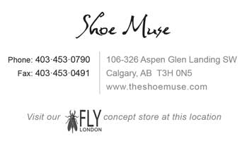 Shoe Muse- business card